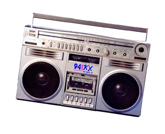 94KX boombox