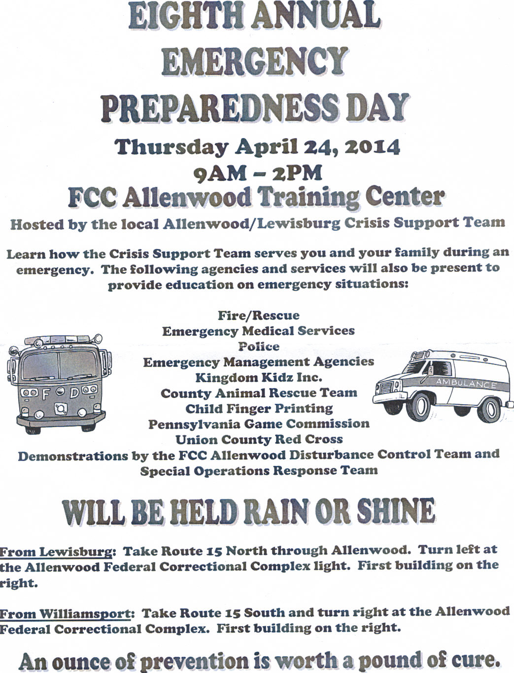 Emergency Preparedness Day
