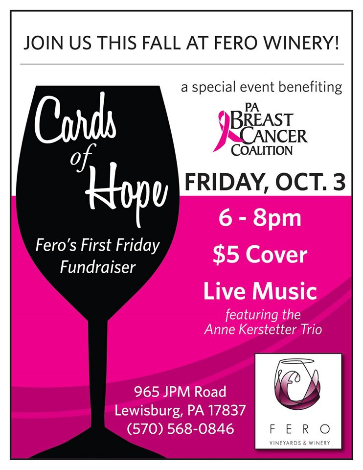Breast Cancer Fundraiser at Fero Winery