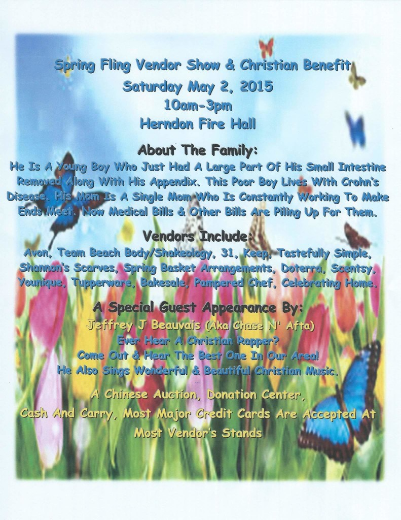 Spring Fling Vendor Show