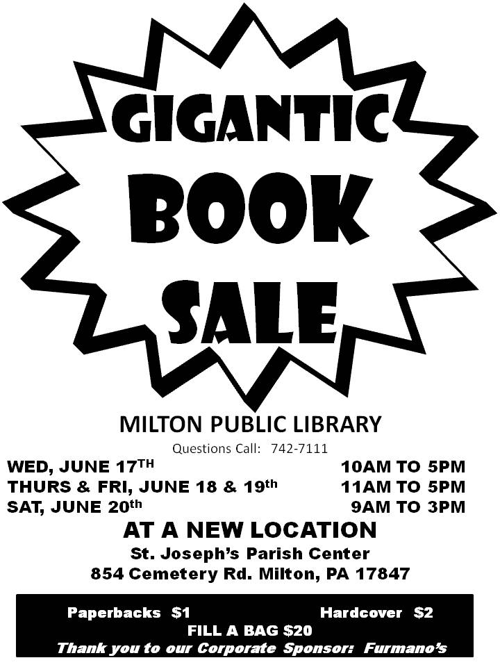 GIGANTIC book sale June 2015