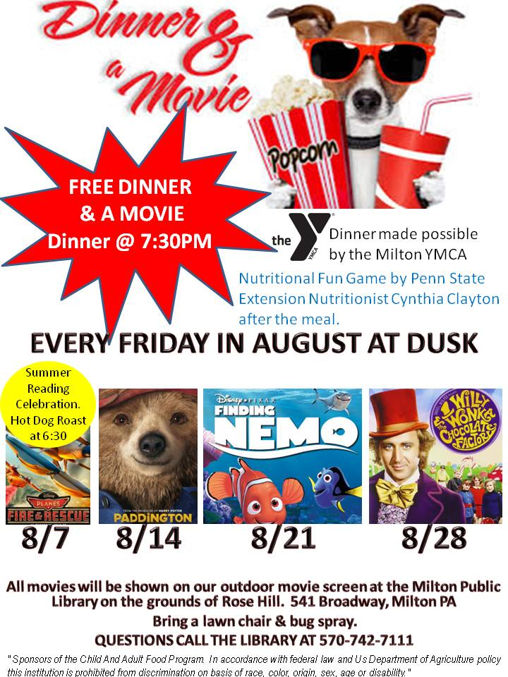 Free Dinner and a Movie