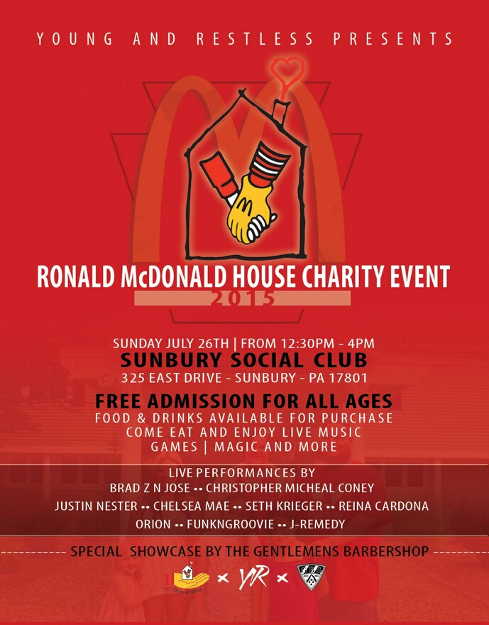 Ronald McDonald House Charity Event