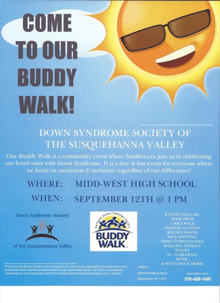 Down Syndrome Buddy Walk