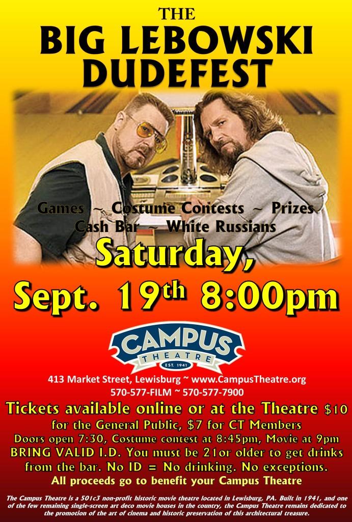 Big Lebowski Dudefest at The Campus Theatre