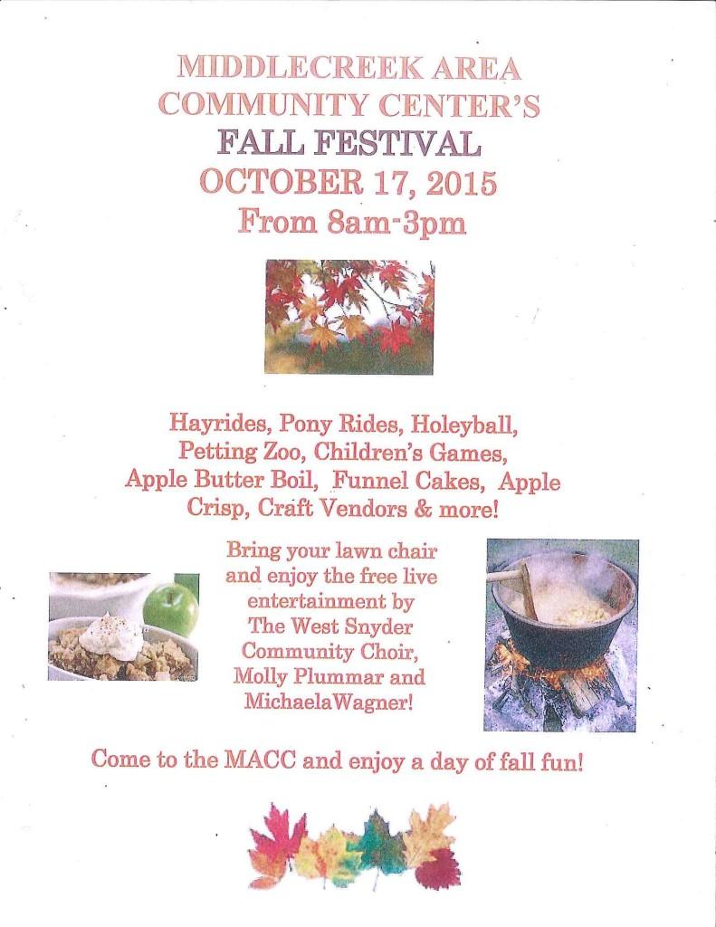 MACC Fall Festival