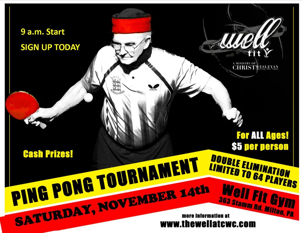 Ping Pong Tournament in Milton
