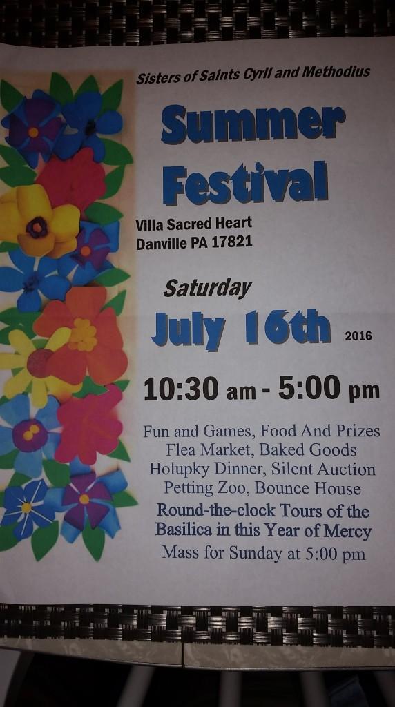 Summer Festival in Danville